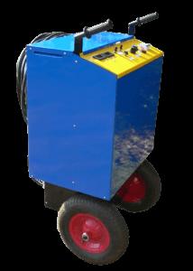 kolejowy niebieski prostownik rozruchowy